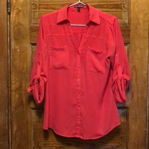 Pink Express Portofino shirt/blouse
